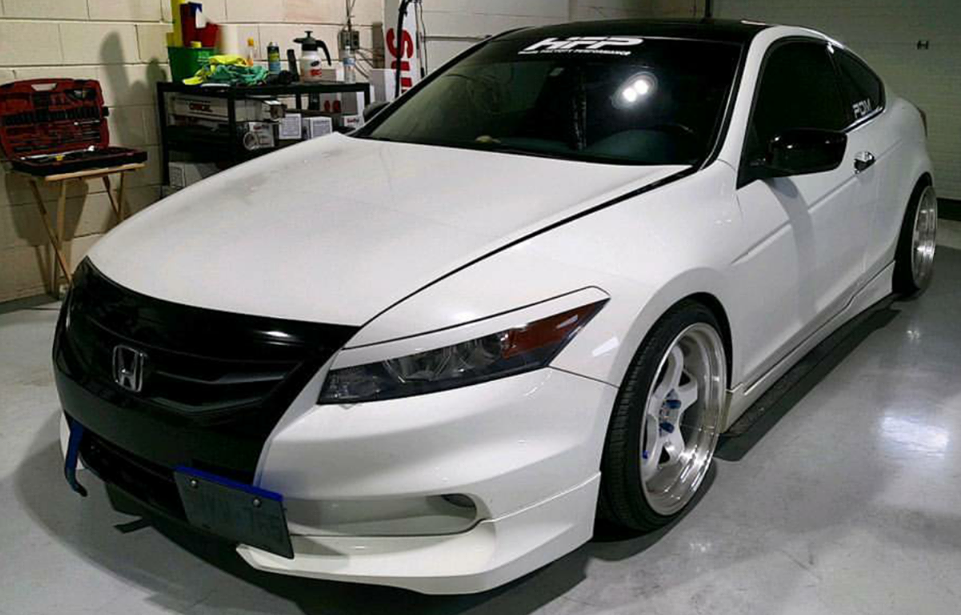 2008 2012 Honda Accord Coupe Side Splitters
