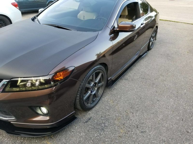 2013-2015 honda accord coupe Side Splitters - Ventus Autoworks