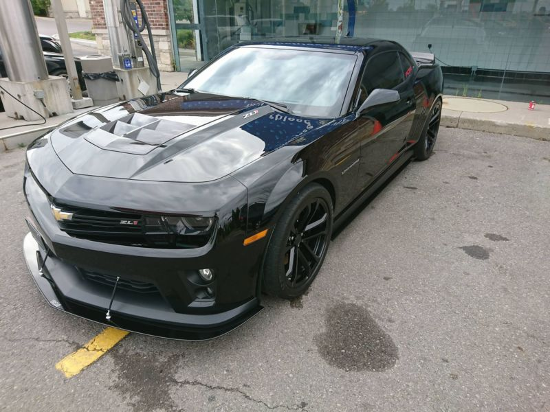 2012-2015 Chevrolet Camaro ZL1 coupe/convertible Front Splitter ...