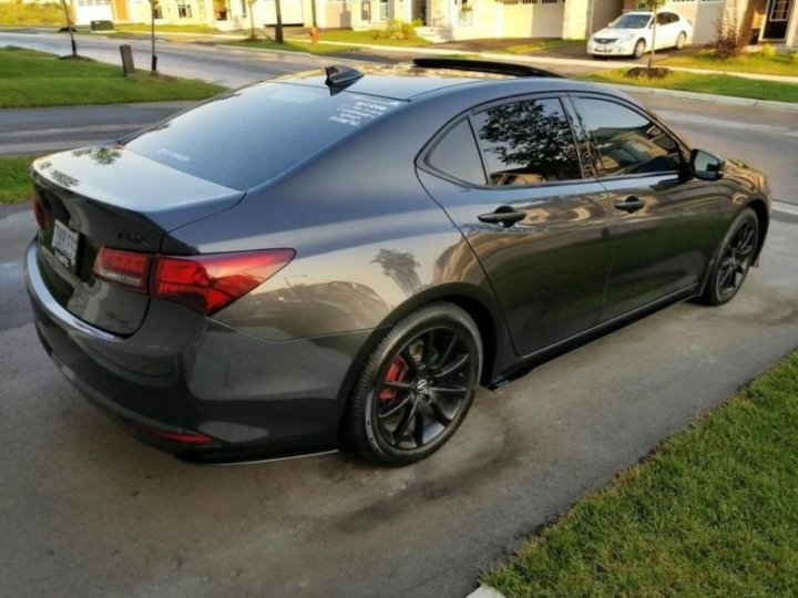 2015 2017 Acura Tlx Rear Spats Ventus Autoworks
