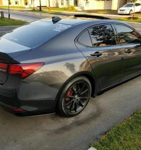 2015-2017 Acura Tlx Rear Spats