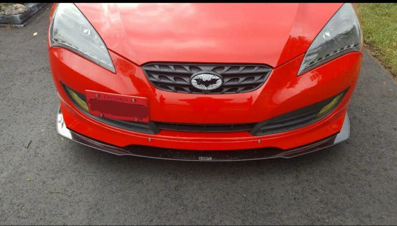 2010 2012 Hyundai Genesis Coupe Quot Specd Lip Quot Front Splitter