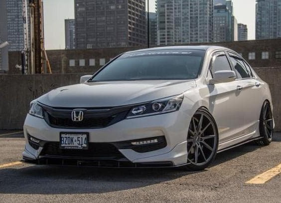 2016+ Honda Accord Sedan stock bumper/hfp kit front splitter - Ventus Autoworks