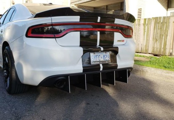 2015 Dodge Charger Sxt Rt Police Valance Rear Diffuser