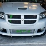 2008-2009 Dodge Caliber SRT Front Splitter