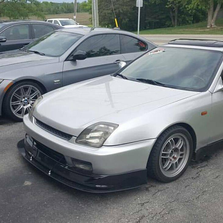 1997 2001 Honda Prelude Quot Oe Style Lip Quot Front Splitter