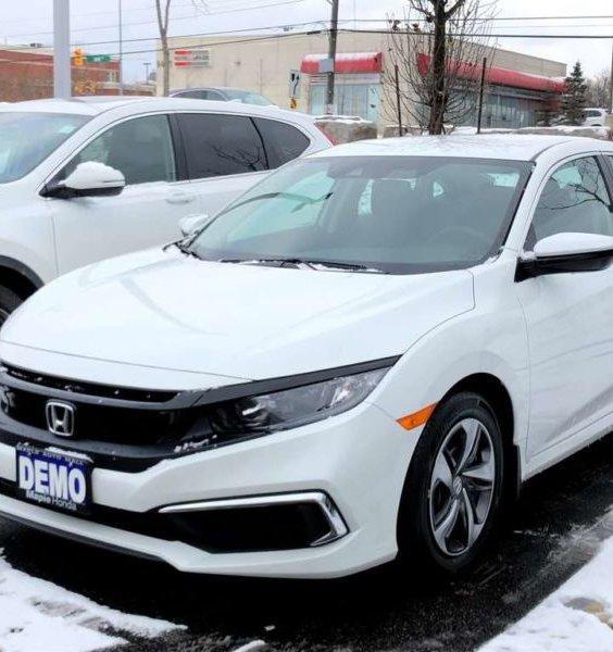 2019 Honda Civic Sedan Front Splitter