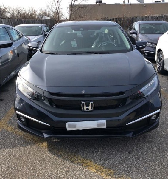 2019+Honda Civic Sedan Front Splitter